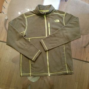 North Face Size L Green Fleece